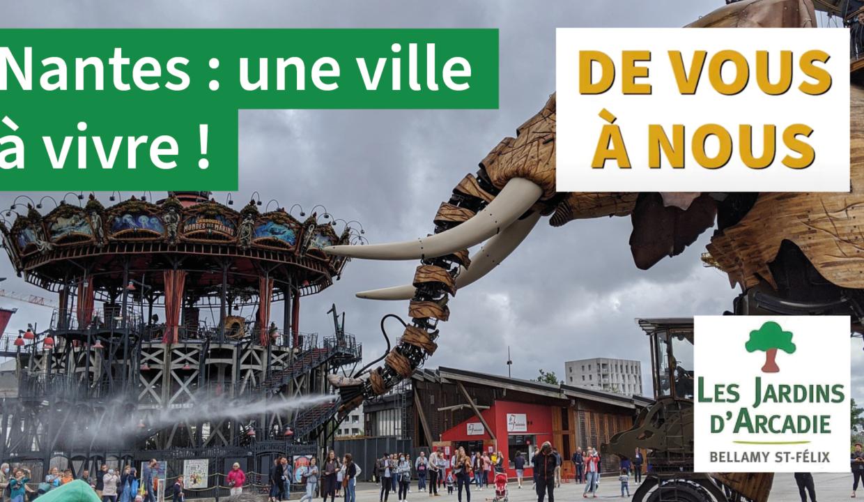Nantes, une ville à vivre